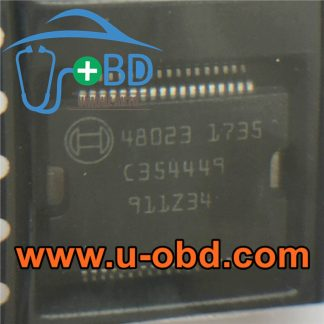 48023 BOSCH ECU Vulnerable power driver chip