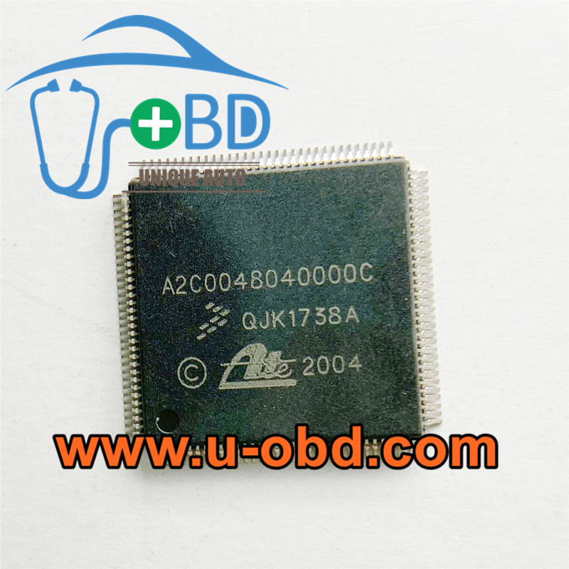 A2C0048040000C VOLKSWAGEN car ABS Module commonly used vulnerable chips