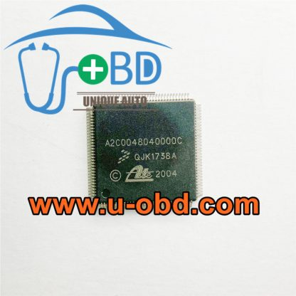 A2C0048040000C car ABS control unit vulnerable repair replacement chips