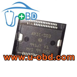 APIC-S03 BUICK NISSAN ECU Vulnerable power supply chips