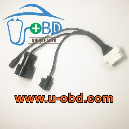 AUDI B8 A4 electric power steering test platform