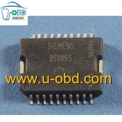 B58655 Commonly used idle throttle driver chip for Automotive ECU