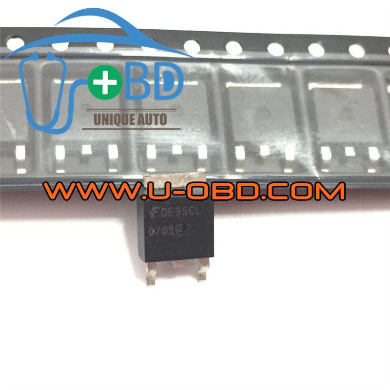BMW N55 DME MEVD17 commonly utlized ignition driver chip transistors