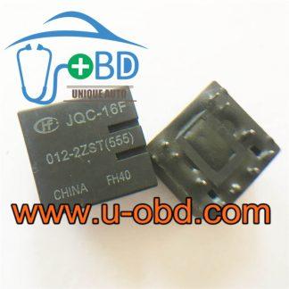 JQC-16F-012-2ZST(555) automotive vulnerable relays