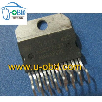 L9122 Commonly used idle throttle driver chip for Marelli ECU