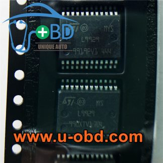 L9929 BOSCH ECU Idle speed idle throttle gate driver chips