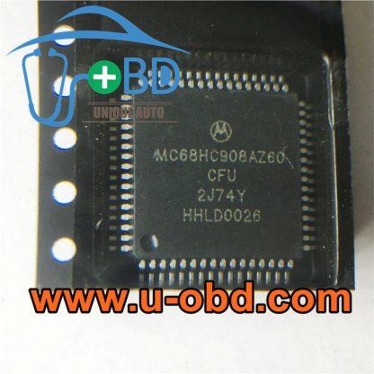 MC68HC908AZ60CFU 2J74Y