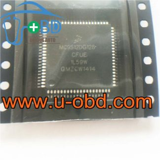 MC9S12DG128CFUE 1L59W AUDI Steer column module MCU