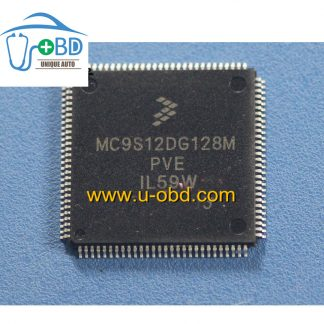 MC9S12DG128MPVE 1L59W Commonly used CPU for automotive ECU