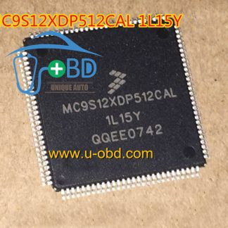 MC9S12XDP512CAL 1L15Y Audi amplifier BOSS module CPU