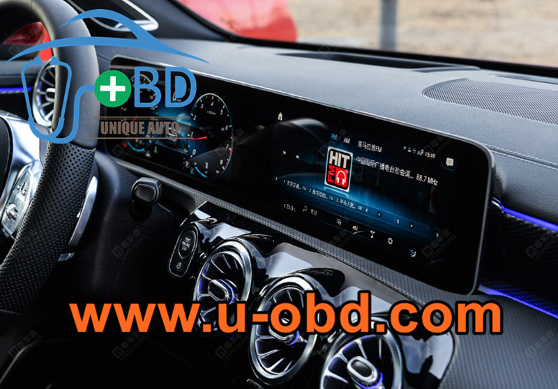 Mercedes Benz Newest head unit MBUX System NTG6.0 Test platform