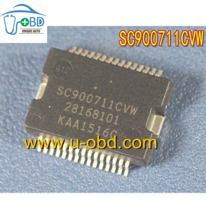 SC900711CVW 28168101 Commonly used idle throttle driver chip for Delphi MT80 ECU