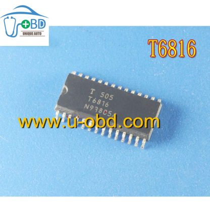 T6816 Commonly used driver chip for automotive air conditioner control units