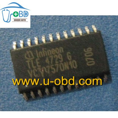 TLE4729G Commonly used idle throttle driver chip for Automotive ECU