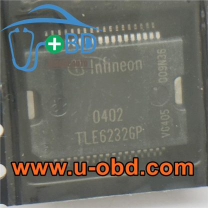 TLE6232GP BMW DME Vulnerable fuel injection driver chips