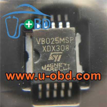 VB025MSP Commonly used vulnerable ignition driver chips