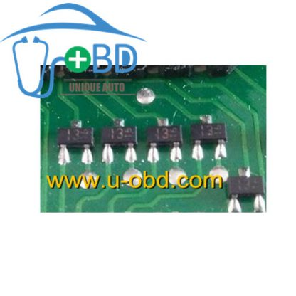13 Volkswagen Jetta BCM window lift control chip