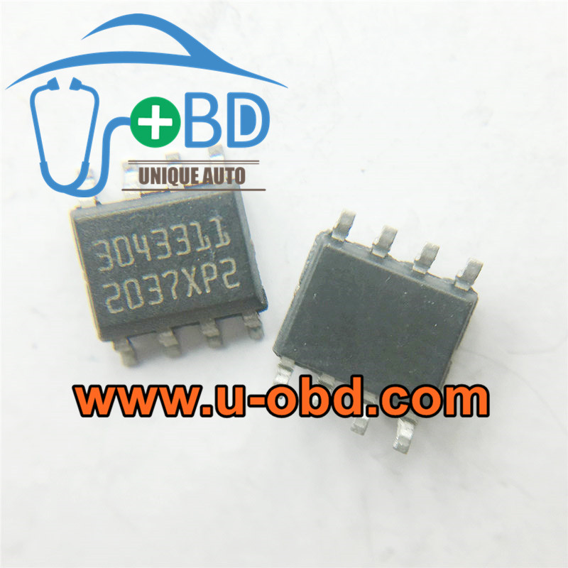 3043311 BOSCH EDC7 Commonly used vulnerable chips
