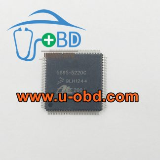 5895-5220C Volkswagen Ford ABS Module vulnerable chips