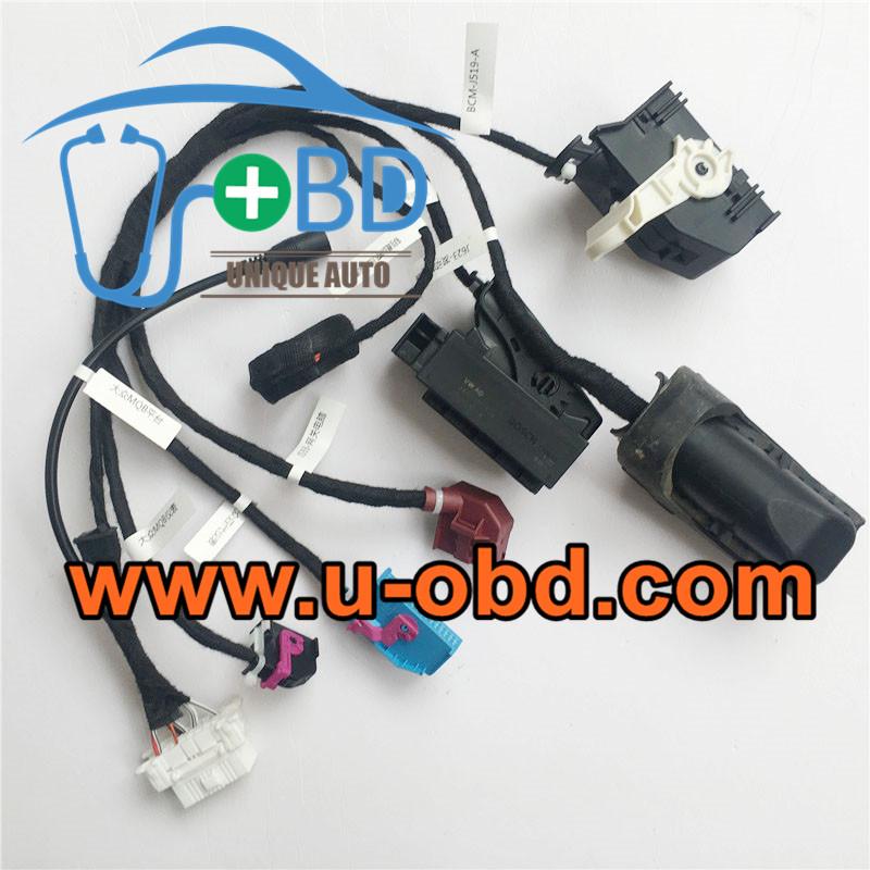 AUDI VOLKSWAGEN MQB Test platform bench cables