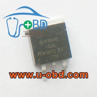 BUK9640-100A BMW DME Vulnerable transistors