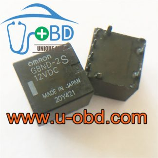G8ND-2S-12VDC widely used automotive relays