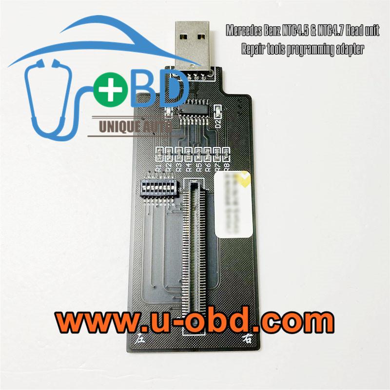 Mercedes Benz NTG4.7 NTG4.5 Head unit black screen repair tools Programminadapter