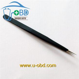 Sharp tip tweezer Needle - nosed tweezers for IC chip grip