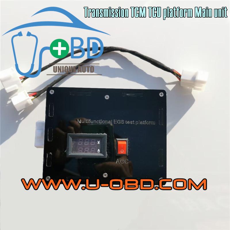 Universal transmission control unit TCM TCU programming diagnosing platform