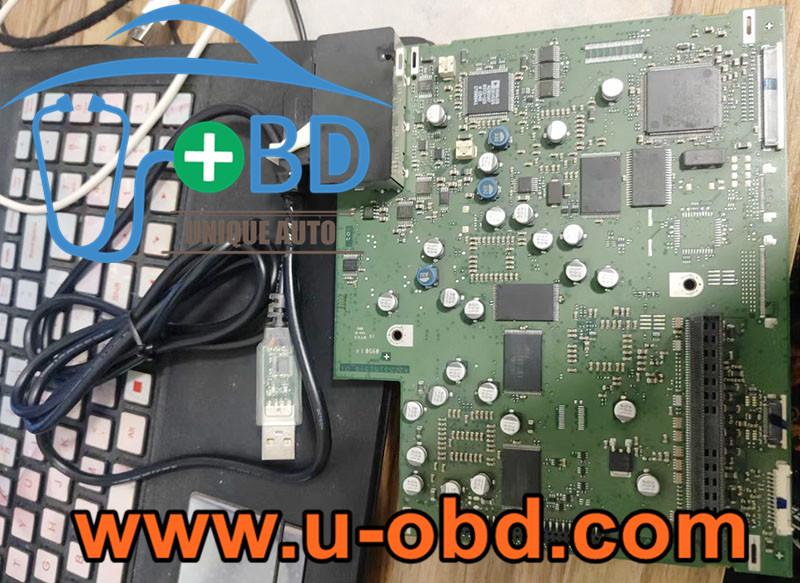 VOLKSWAGEN AG SKODA Bentley phaeton RNS510 Headunit repair tools