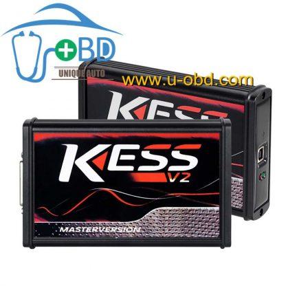 Best quality Version KESS V2 V5.017 EU Red PCB No Token Limited ECM ECU programming tool