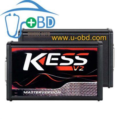 Best quality Version KESS V2 V5.017 EU Red PCB No Token Limited ECM ECU programming tool CarTractorBike