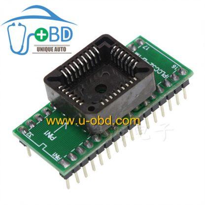 PLCC32 packaging chip convert to DIP32 socket