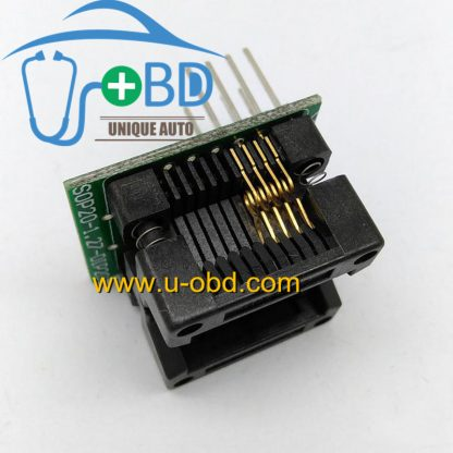 Wide body size SOIC 8 PIN sockets adapter