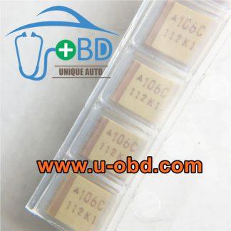 106C 16V 10UF 3528 Tantalum capacitor