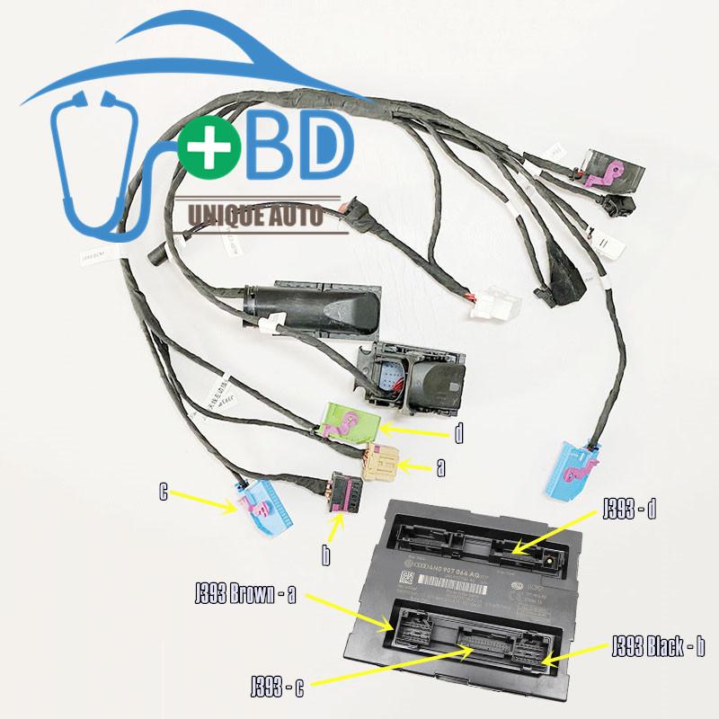 AUDI Ffifth Gen immobilization system A6 A7 A8 key programming test platform
