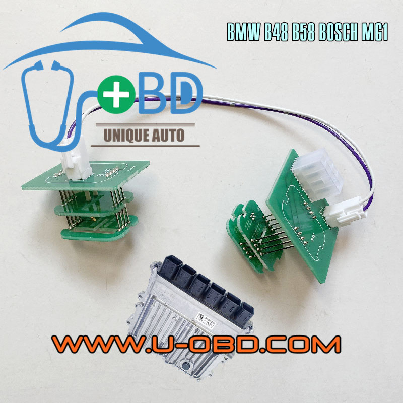 BMW B48 B58 DME BOSCH MG1CS series ISN reading ECU clone adapter