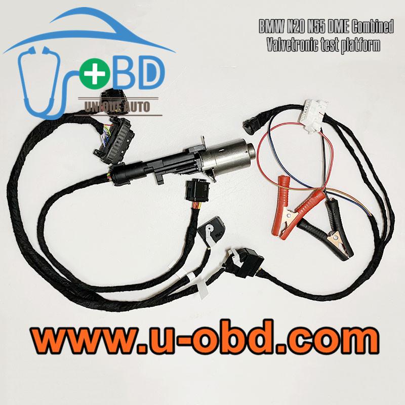BMW N20 N55 DME valvetronic motor test platform