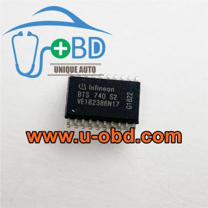 BTS740S2 Car BCM Widely used vulnerable chips