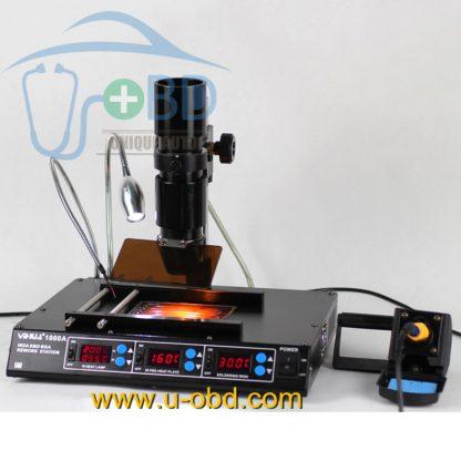 Infrared BGA rework station automotive BGA chip soldering and desoldering station