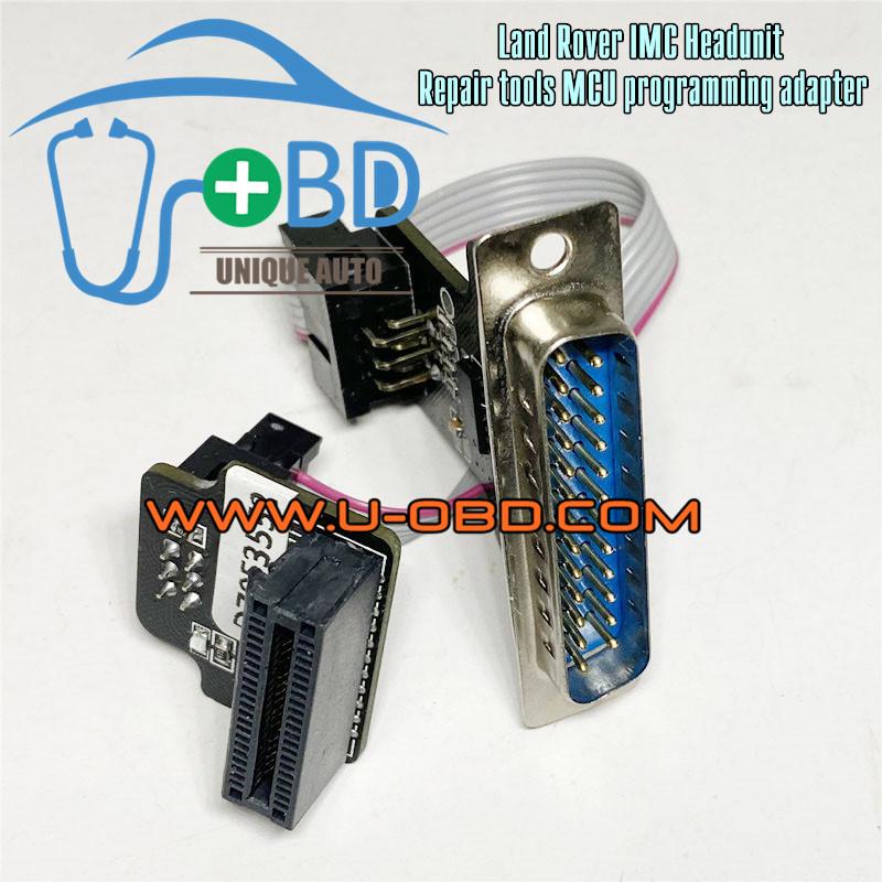 Land Rover IMC headunit repair tools Main board MCU Programming adapter