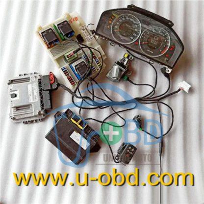 VOLVO key duplicate harness test platform cables