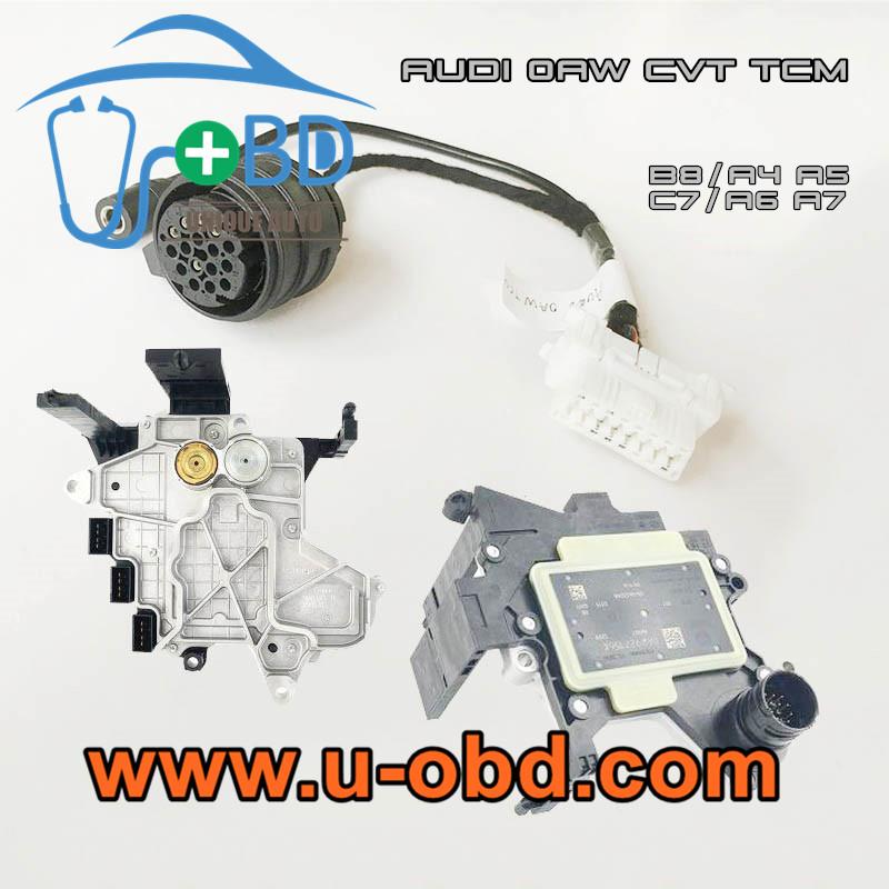 AUDI CVT Transmission 0AW gearbox control unit programming harness