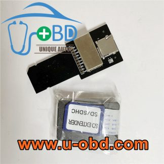 Mercedes Benz Head unit SD Card unlocking deblocking reader