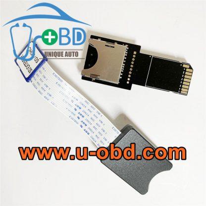Mercedes Benz head unit SD Card reader decoder