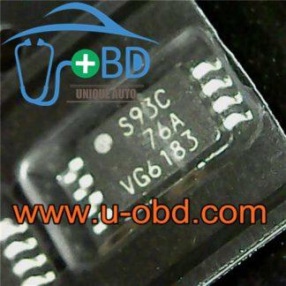 93C76 TSSOP8 Widely used automotive EEPROM chips