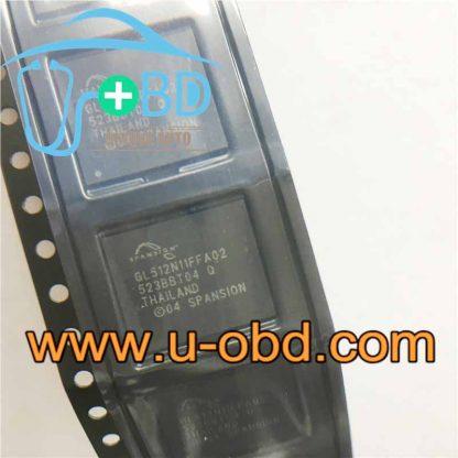 GL512N11FFA02 AUDI BMW Audio host vulnerable BGA chip