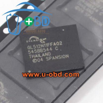 GL512N11FFA02 BMW AUDI head unit BGA memory chip