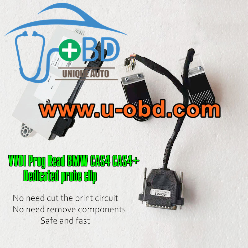 BMW CAS4 CAS4 Plus VVDI prog dedicated programming clip read fixture