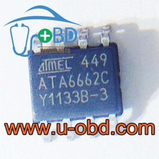 ATA6662C BMW vulnerable CAN Communication chips